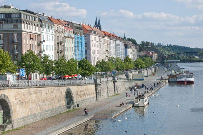 Náplavka Praga