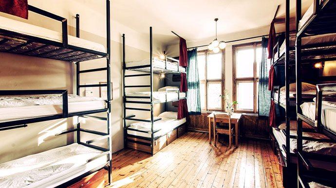 Dórmitório grande SirToby's Hostel Praga