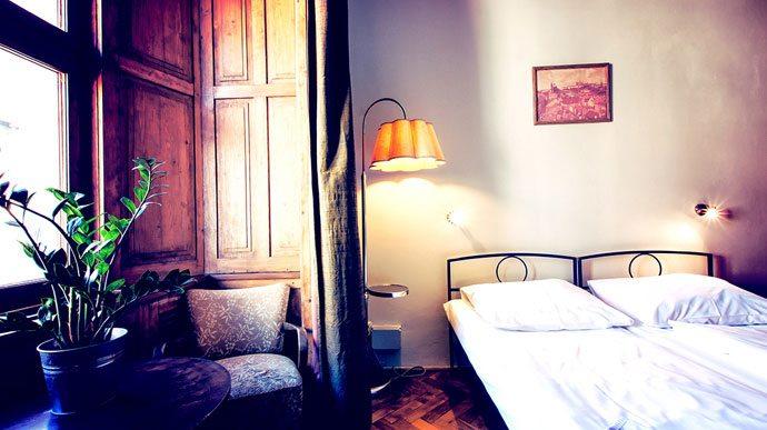 Quarto privativo SirToby's Hostel Praga