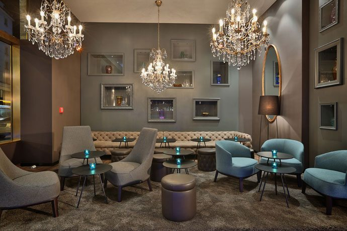 Lounge Motel One, Praga