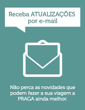 Banner para assinar a newsletter do Insider Praga