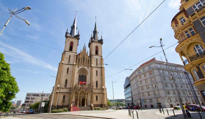 Igreja Santo Antônio de Pádua, em Praga