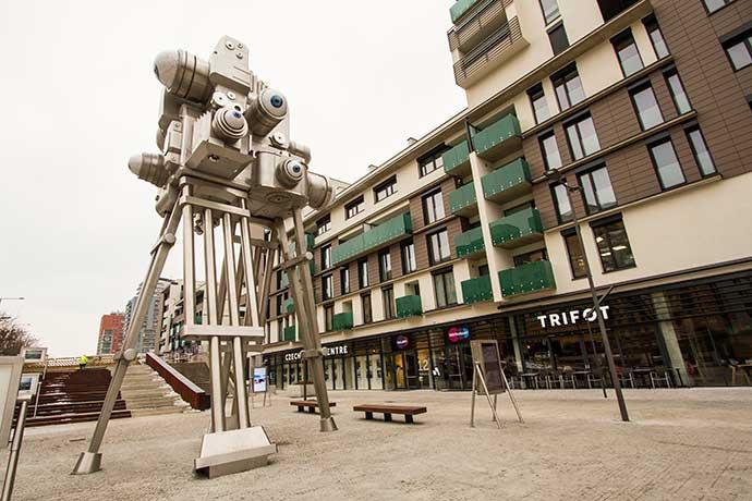 David Cerny em Praga: obra Trifot