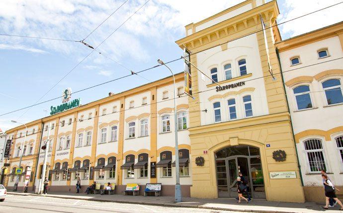 Restaurante Potrefena Husa na fabrica da Staropramen, Praga