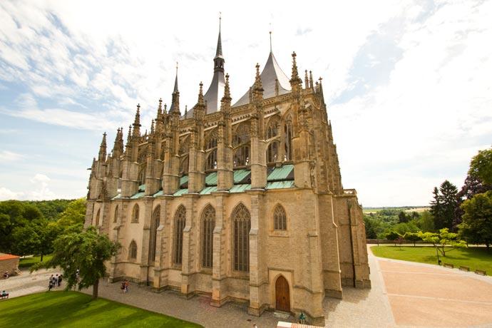 Catedral de Santa Bárbara, em Kutná Hora