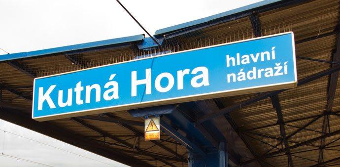 Estação principal de Kutná Hora