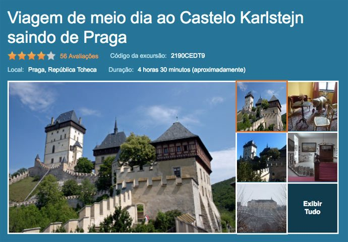 Tour Viator para Karlstejn