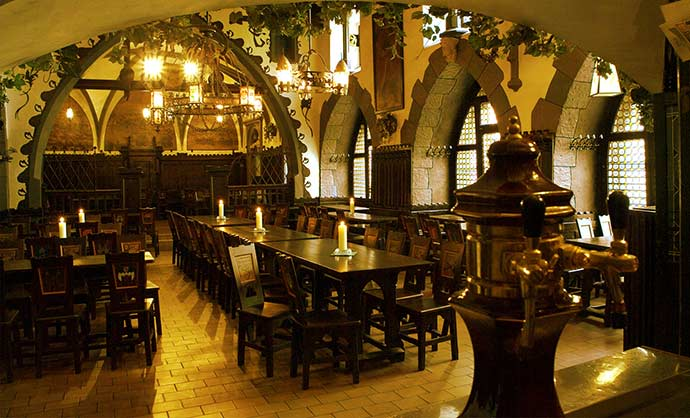 Cervejaria U Fleku, em Praga