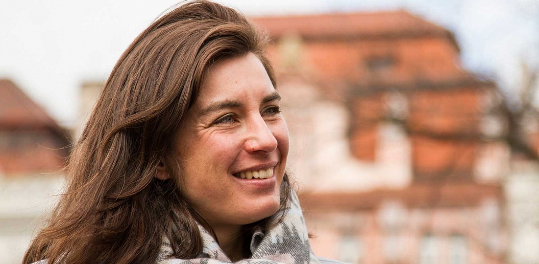 Guia em Praga, falando português: Helga Bílkova