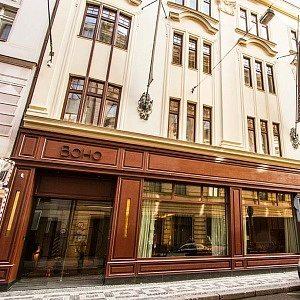 O melhor hotel de Praga em 2017: o lindo prédio de 1911 e a fachada do BoHo