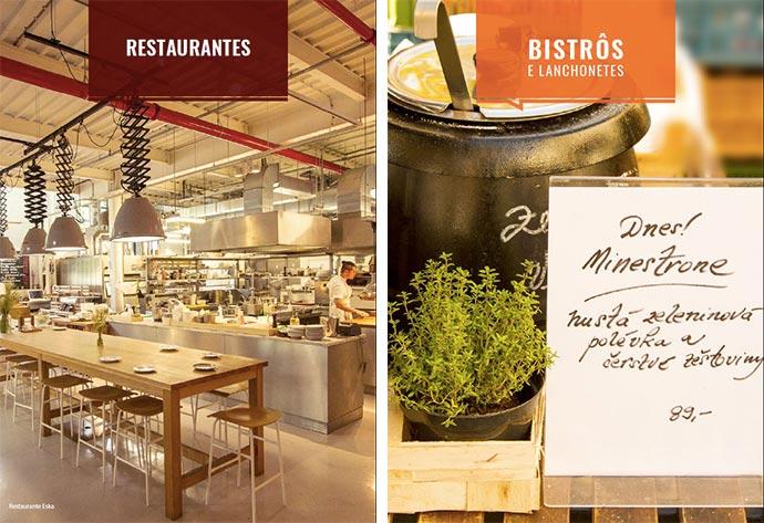Restaurantes em Praga: conteúdo do guia 50 Lugares Onde Comer e Beber Bem em Praga