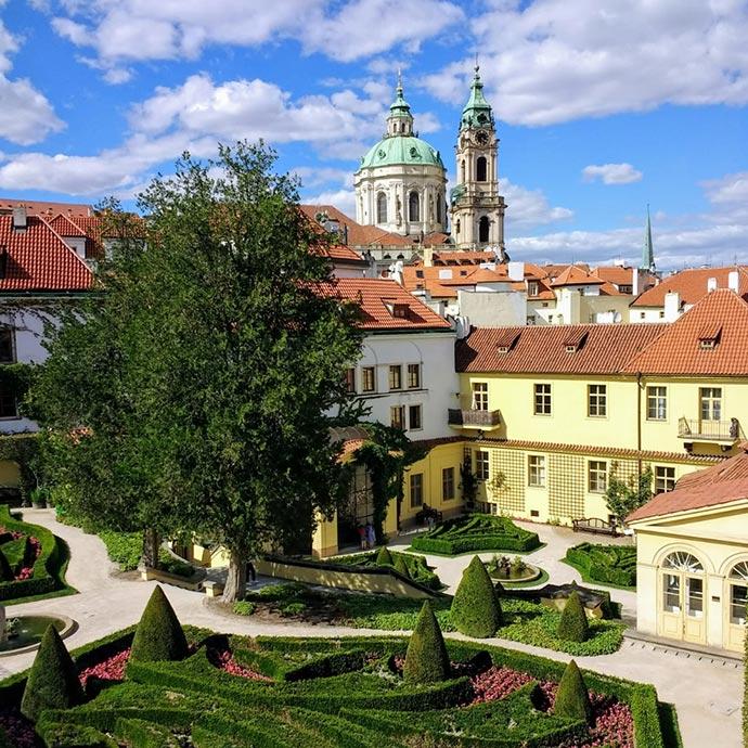 Jardins de Praga: o jardim Vrtba (Vrtbovská)