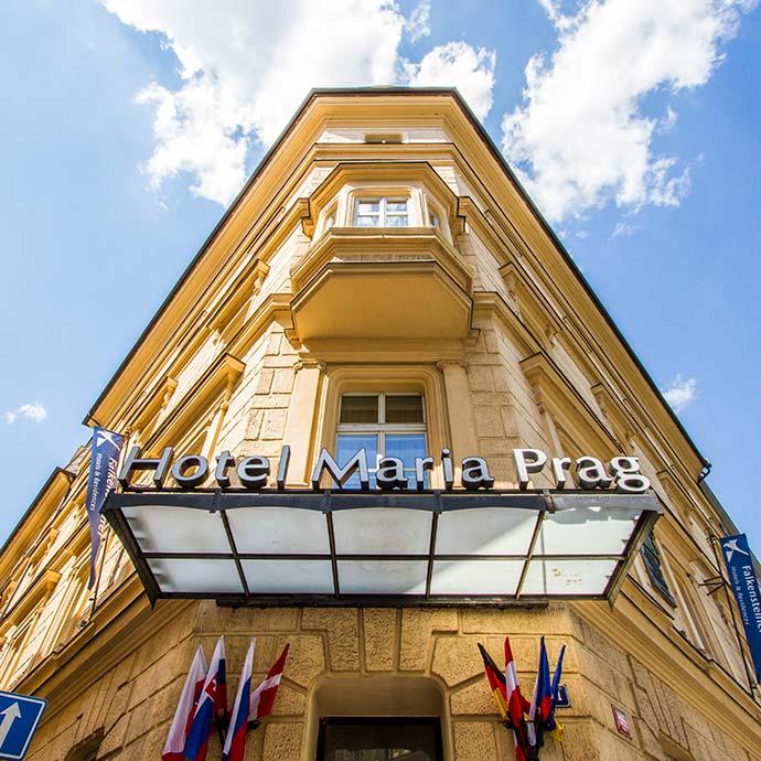 Hotel perto da estação de trem de Praga: Maria Prag