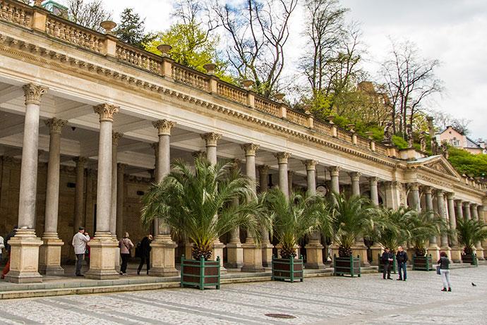 Colunada em Karlovy Vary